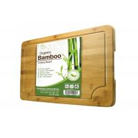 Quality Multipurpose Extra Large Bamboo Cutting Board High Strength Free Of Heavy Metals wholesale