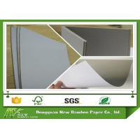 China Recycled AA Grade Coated Duplex Paper Board With Grey Back Good Stiffness on sale