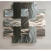 Buy cheap ODM Modern Abstract Stainless Steel Wall Sculpture For Home / Gallary Decoration from wholesalers