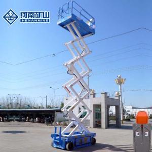 China Battery Driven Scissor Lift Platform Self Propelled 230kg / 300kg Rate Loading on sale