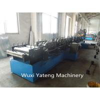 Buy cheap CNC Machining  CZ Purlin Roller Forming Machine Gcr15 Material 18 Roller Stations product