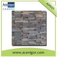 Quality Vintage style wood wall mosaic panel for wall decorative tiles wholesale