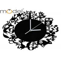 Quality Fashion Acrylic Gear Wall Clocks Silent Movement , Living Room Decor wholesale