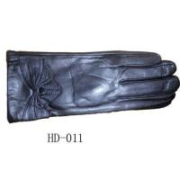 China Ladies leather gloves on sale