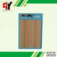 Quality Brown Solderless Circuit Board , Circuit Bread Board With Blue Plate wholesale