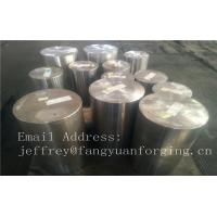 Buy cheap Martensitic Stainless Steel Forging Rings Forged Bar Heat Treatment Rough Turned from wholesalers