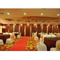 Quality Conference Room tri fold internal doors , Internal Folding Door For Banquet Hall wholesale