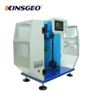 Quality 80KG 7.5J,15J 3.5m/s Speed Izod Plastic Impact Machine Equipment with AC220V±10% 50HZ wholesale