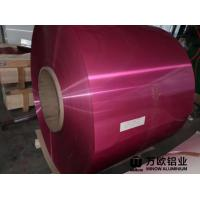 Quality PE / PVDF Painted Aluminium Coil With Superior Impact Resistance SGS Approval wholesale