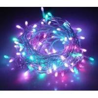 Quality 0.35W Color Solar Powered Christmas Lights Holiday Light Party Flexible Led Strip Lights wholesale