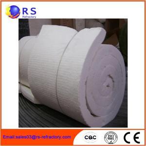 China White Ceramic Insulation Blanket For Boiler / Refractory Ceramic Fire Blanket on sale