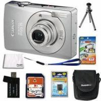 Quality Canon PowerShot SD750-IXUS 75 Silver 7.1MP Digital Camera wholesale