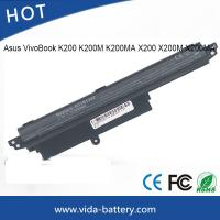 Quality Battery for Asus VivoBook K200 K200M K200MA X200 X200M X200MA li-ion battery cell power supply wholesale