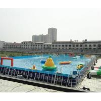 Quality Outdoor Above Ground Pool for water park wholesale