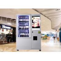Quality Bottles / Cans / Snacks Customed Mini Mart Vending Machine with Network LCD Advertising Display wholesale