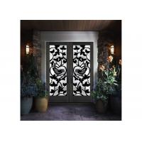 Quality Stylish Elegant Wrought Iron Glass Glass Agon Filled 22*64 inch Size Durable wholesale