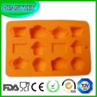 Quality DIY Multiple Patterns Shaped Silicone Cake Soap Chocolate Jelly Mold with 8 Holes wholesale