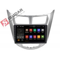 Quality USB DVR Video Input Android Auto Car Stereo For Hyunida Verna / Solaris / Accent 2011 wholesale
