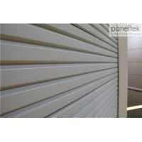 Quality Deep Grooved Shape Exterior Wall Panels 30mm Thickness With Frost - Resistance wholesale