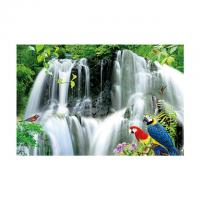 Quality Large Size PET 3D Lenticular Printing Poster Of Waterfall Scenery Theme wholesale