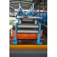 Quality Full Automatic ERW Pipe Mill Production Line Directly Forming 63mm Pipe Diameter wholesale