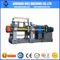 Quality Rubber Mixing Mill machine / open two roll mill machine/ rubber sheet machine wholesale