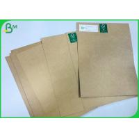 Quality Hard Stiffness Shopping Bag Paper 90gsm 135gsm 200gsm Brown Color Paperboard wholesale