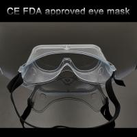 Quality Transparent Eye Protection Goggles , Anti Fog Safety Goggles Prevent Influenza Virus wholesale