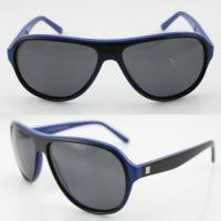 Quality Handmade Round Acetate Frame Sunglasses Protect Eyes From UV wholesale