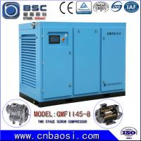 Buy cheap High Efficient 45kw Stationary High Volume Air Compressor 6.5-9.8m³ / Min product