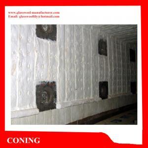 China Standard refractory silicate aluminium heat thermal ceramic fiber blanket for boiler insul on sale
