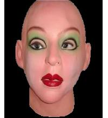 China Sexy Female realistic Mask on sale