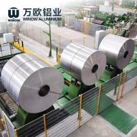 Cheap 5052 6061 Hot Rolled Aluminum Sheet Coil 0.2 - 6.0mm Thickness For Construction for sale