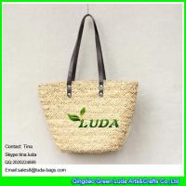 Cheap Luda Wholesale Lady S Basket Bag Handmade Water