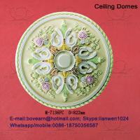Quality Large recessed ceiling domes/ pu ceiling medallions wholesale