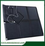 Quality High Eff. 60watt foldable solar panel kit, solar panel charger foldable for car / boat / golf cart wholesale