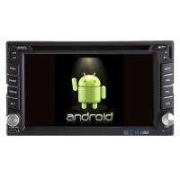 Quality 2 Din Autoradio GPS Android 9.0 Car Navi Player with GPS Support Mirror Link Function S-DVD6208GDA wholesale