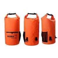 Quality 20l Heavy Duty Dry Storage Bags 0.5mm Thickness With Mesh / Front Zipper Pocket wholesale