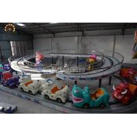 Quality Mini Shuttle Amusement Train Rides 2 Meter Track Height 12 Months Warranty wholesale