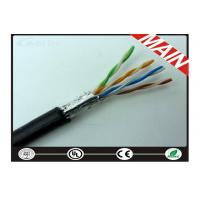 Quality CAT5E Outdoor Armored Ethernet Network Cable For Alarm System Wear Resistance wholesale
