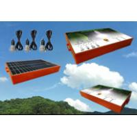 Quality 3.7V Battery Ultra Bright Solar Light Kits 4W With ABS Plastic Shell wholesale