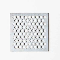 Quality Galvanized Round Hole Perforated Sheet For Acoustical Enclosures wholesale