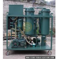 China Mobile Type Turbine Oil Cleaning System Emulsified Turbine Oil Filtration Machine on sale
