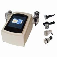 Quality Ultrasound 40KHZ and vacuum Bipolar RF handle cavitation slimming machine wholesale