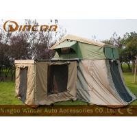 Quality Waterproof Car Roof Top Tent And Awning , Heavy Duty Canvas Tents For Camping wholesale