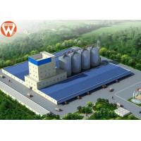 Quality Capacity 20T/H Animal Feed Production Line With Raw Materials Silo wholesale