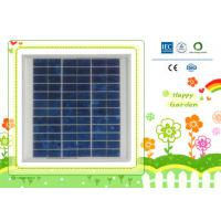 China certified 10w 18v small solar panel modules for portable home system on sale