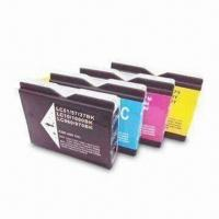 Buy cheap Compatible Ink Cartridge for Brother LC970 in Yellow with High Capacity from wholesalers