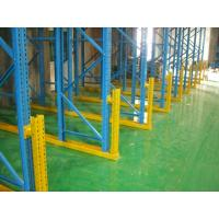China Industrial Storage Drive In Racking System Powder Coated Paint For Logistics Warehouse on sale