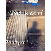 High Frequency Welded Helical Serrated Fin Tube For Infired Heater / Heat